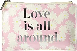 Love Is All Around Pencil Pouch