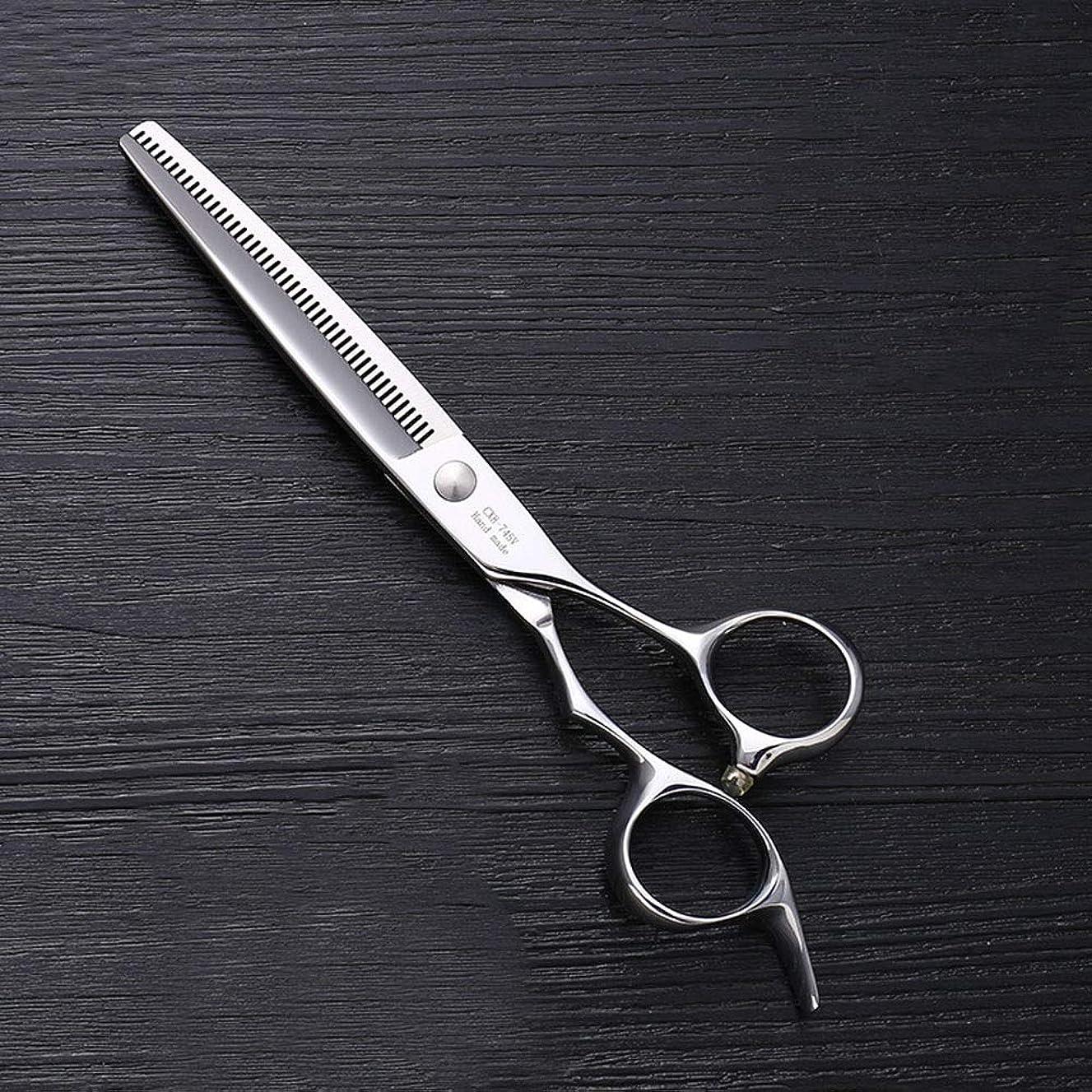 速度崇拝します医療過誤7インチのステンレス鋼ペットトリマーの特別なはさみ、ペット歯の薄いはさみ モデリングツール (色 : Silver)