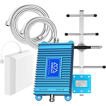 Verizon Cell Phone Signal Booster 4G LTE Cell Phone Booster Verizon Cell Signal Booster Verizon Signal Booster Amplifier Band13 FDD Home Cell Booster Enhance 4G Voice Data with Antennas for Home