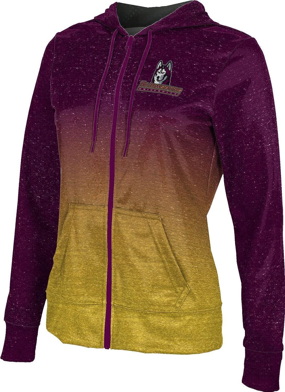 ProSphere Bloomsburg University Girls' Zipper Hoodie, School Spirit Sweatshirt (Ombre)