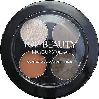 Quarteto De Sobrancelhas Top Beauty 4, 5 Gr, Top Beauty