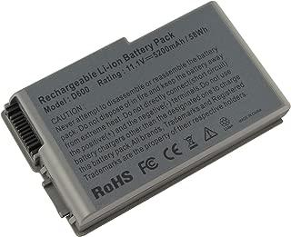 AC Doctor INC Laptop Battery for Dell Mobile Workstation M20, Dell Inspiron 500m 510m 600m, Latitude D500 D505 D510 D520 D600 D610, Precision M20, 5200mAh/11.1V/6-Cells