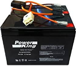 Razor Scooter Battery 12 Volt 9ah High Performance – Set of 2 Includes New Wiring..