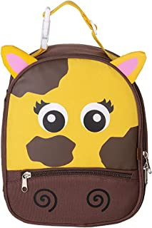 Lunch Box for Kids Toddler Cartoon Insulated Soft Bag Mini Cooler Thermal Meal Tote Kit with Handle for Girls, Boys Cow(9
