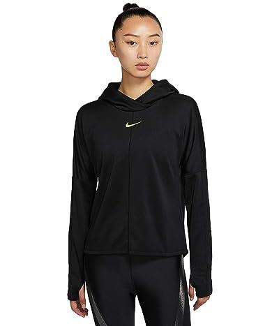 Nike Icon Clash Element Top (Black/Metallic Gold) Women