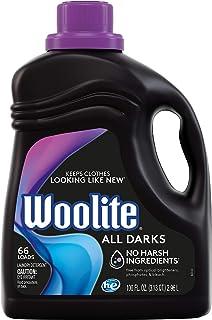 Woolite All Darks Liquid Laundry Detergent, 66 Loads, Black Clothes & Jeans, Regular & HE Washers, midnight scent, Moonlig...