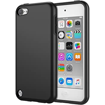 ipod touch ケース ATiC ipod touch 7 ケース/ipod touch 6 ケース/ipod touch 5 ケース PC シリコン 衝撃吸収 おしゃれ 軽量 アイポッドタッチ 7世代 / 6世代 / 5世代 適応 Black