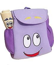 Dora Explorer Backpack Rescue Bag with Map,Pre-Kindergarten Toys PurpleZhicheng
