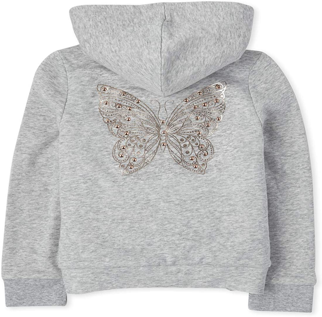 All items in the store Cheap mail order sales The Children's Place Girls' Foil Hoodie Zip Up Sherpa