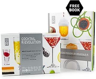 Molecule-R - Beginner Molecular Mixology Kit + FREE Recipe Book - COCKTAIL R-EVOLUTION