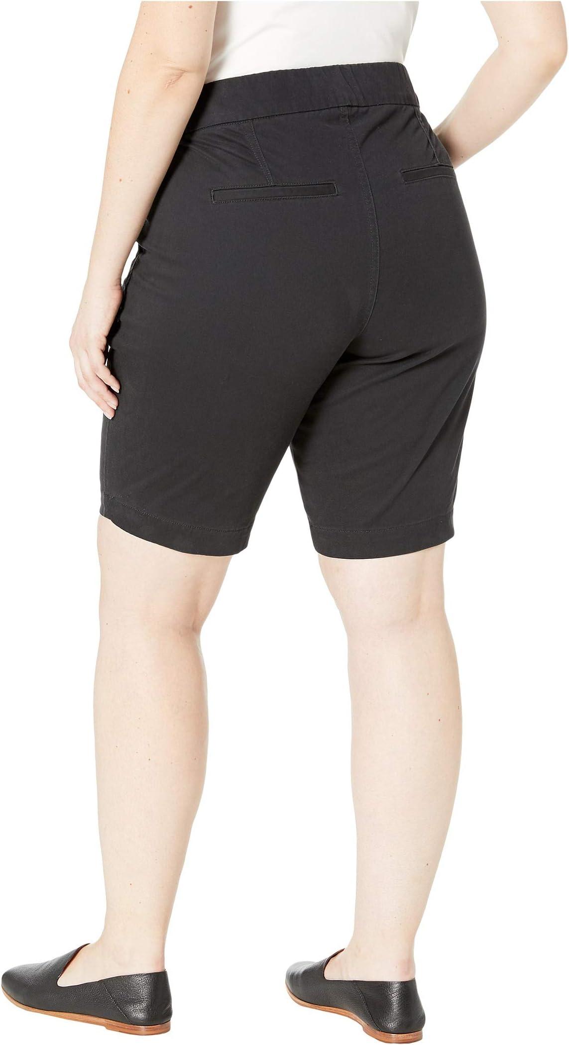 Jag Jeans Plus Size Plus Size Gracie Pull-On Bermuda Shorts K3DTO4