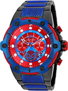 Men's Marvel Quartz Watch with Stainless-Steel Strap, Two Tone, 26.5 (Model: 25782)