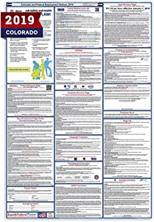 2019 Colorado State and Federal Labor Law Poster - Laminated 27