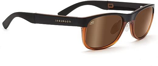 Serengeti Piero - Gafas de sol polarizadas, color dorado ...