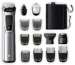 Philips Barbero MG7720/15 Recortador de barba y pelo óptima precisión 14 en 1 tecnología Dualcut autonomía de 120 minut...