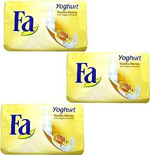 Fa Yoghurt Vanilla Honey Bar Soap  125g