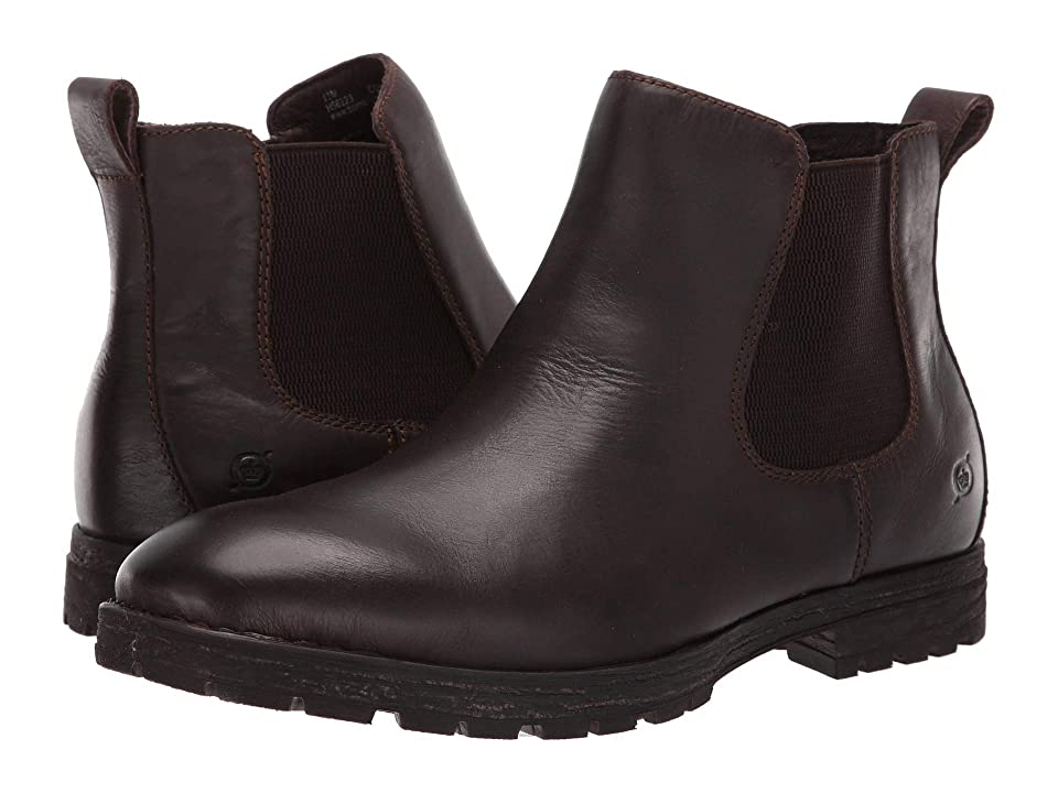 Born Luc (Dark Brown (Sea Lion) Full Grain Leather) Men