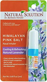 LAVENDER NETI INHALER Sinus & Lung Relief. HIMALAYAN SALT AIR! Respiratory Wellness. Clearing, Healing Ions Aromatherapy. Handy Portable
