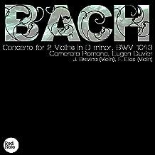 Bach: Concerto for 2 Violins in D minor, BWV 1043
