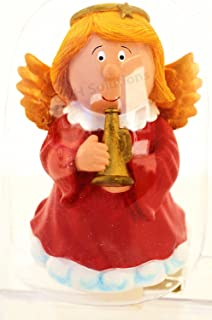 Lovely Polyresin Little Flying Angel Blowing The Horn Nightlights,Night Lights by C&H