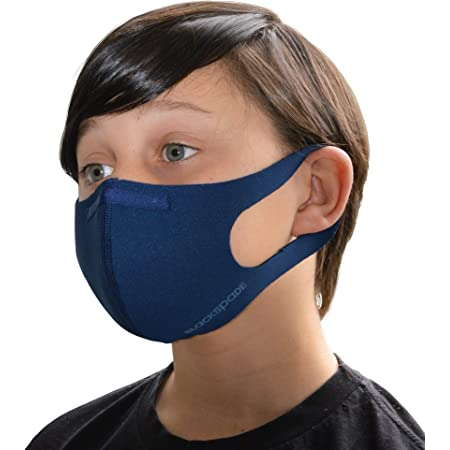 Breathable /& Comfortable Face Protection Cover Dannii Matthews Childrens Washable Face Cover with 3 Layers 2 in 6 Colours
