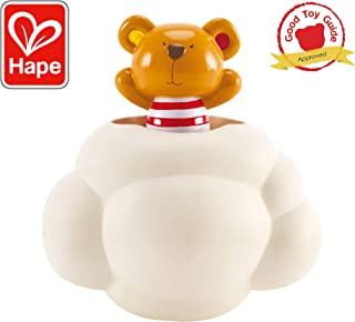 Hape Pop-Up Teddy Shower Buddy | Award Winning Little Fun Baby Bath Toy for Kids