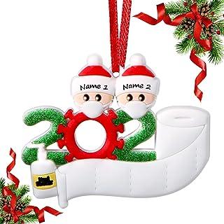 Best AYOGU 2020 Ornament, Decor Kit Mask Ornament, Christmas Ornaments 2020-- 2 Family Members Review