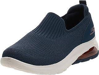 حذاء المشي جو والك اير، اير فلو من سكيتشرز - حذاء مشي قماشي منسوج مناسب للرياضيين سهل الارتداء ومحكم