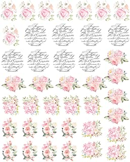 Prima Marketing Inc Redesign Knob Transfer - May Flowers, Mixed
