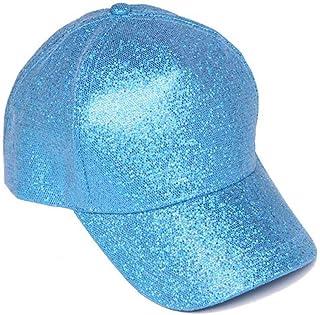 Womens Fashion Glitter Baseball Cap