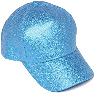 Womens Fashion Glitter Baseball Cap