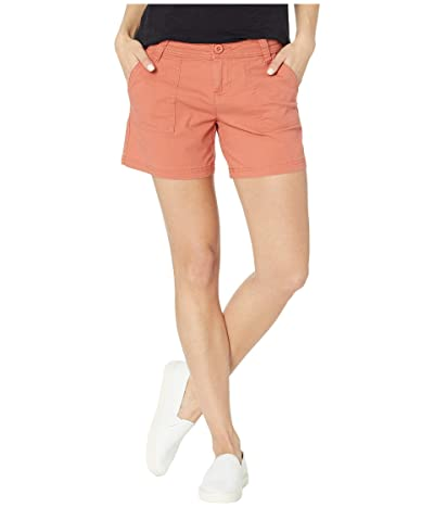 Prana Tess Shorts 5 (Toasted Terracotta) Women