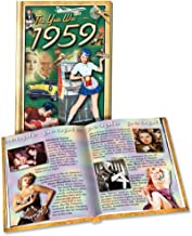 Flickback 1959 Mini-Book: 59th Birthday or Anniversay Gift