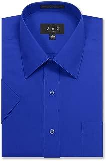 Men's Regular Fit Short-Sleeve Dress Shirts
