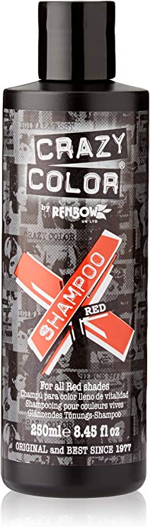 Crazy Color Champú Red 250 ml (18494)