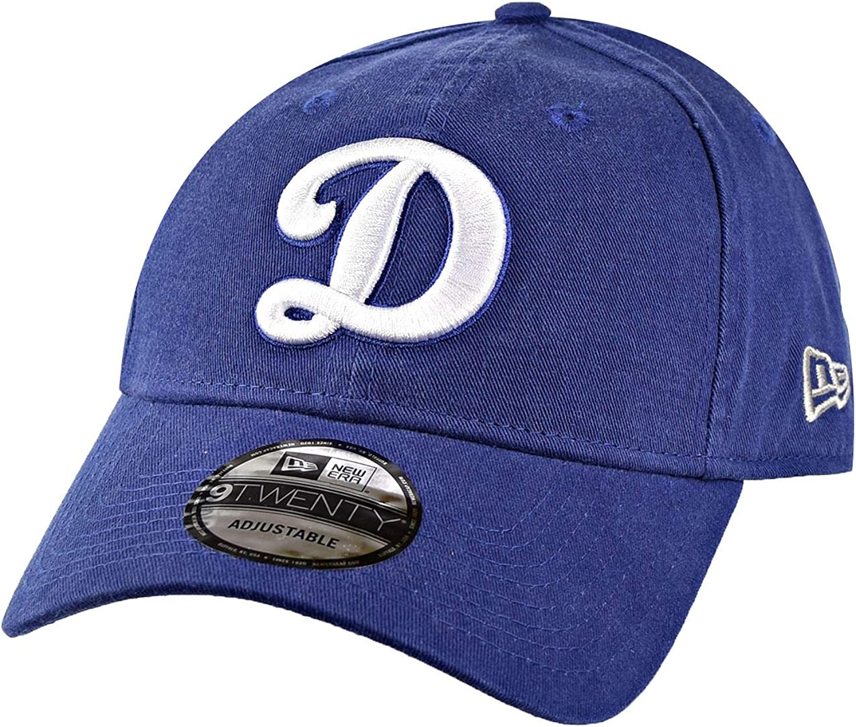 New Era Los Angeles Dodgers 9Twenty Adjustable Cap Hat Blue 11485051