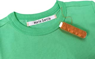 100 Personalized Labels to Mark Clothes. Sewing Tape in Clothes. Gentle with Your Kids Skin, for Children`s School Uniform...
