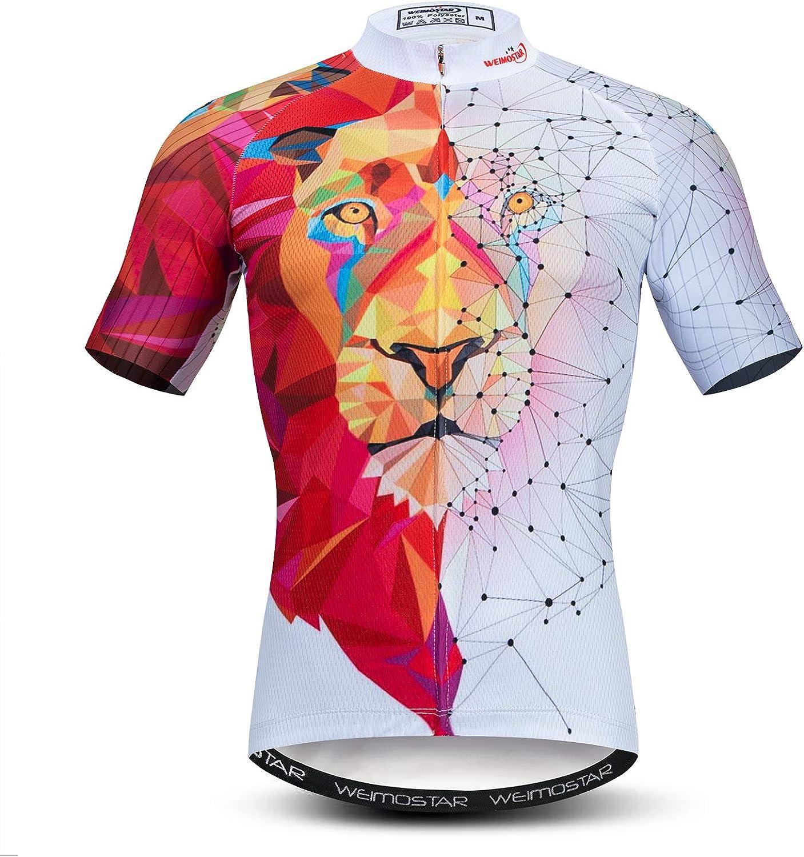 Weimostar Max 59% OFF Summer Save money Men's Cycling Jersey Sleeve Mountain Short Bike