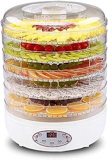 Déshydrateur de Nourriture, Contrôle de la Température 35-70 ° C, Minutage 1-24 Heures, avec 5 Plateaux, Faible Consommati...