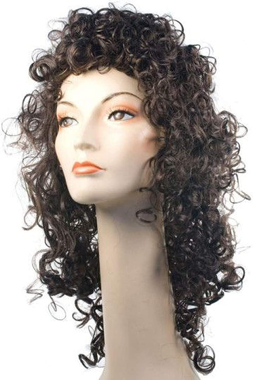 Lacey Wigs Fancy Kansas City Mall Curly Dark Costume Over item handling Blonde Yellow Wig