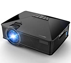 Mini Projector, DBPOWER GP15 +50% Brighter Portable LCD Mini Video Projectors,50000Hours..