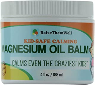 Kid-Safe Calming Magnesium Oil Balm. Formulated for Sensitive Skin.