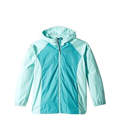 Columbia Kids Endless Explorer Jacket (Little Kids/Big Kids) (Geyser Heather/Gulf Stream Heather/Gulf Stream) Girl