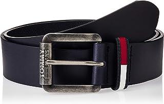 حزام رجالي من Tommy Hilfiger مطبوع عليه شعار TJM Roller مقاس 4.0، أزرق (أيريس 496)