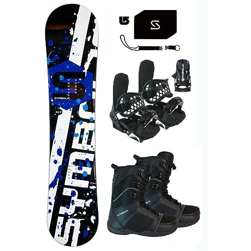 11c92c4ef169 Symbolic 369 Snowboard   Bindings   Boots   Leash   Stomp ...