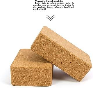 Yoga Block CS-YJZ Cool Block, Cork Yoga Block, Yoga Brick, Yoga Assist, Beginner, Dance, Fitness Training (Color : -)