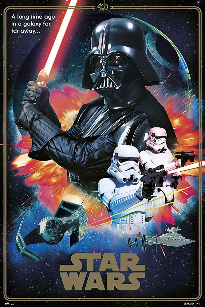 POSTER STOP ONLINE Star Wars Episode IV Hope New A - Pos Opening large In stock release sale Movie