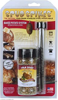 Spud Spikes 6-inch Potato Baking Nails Food Grade Stainless Steel Combo Pack, Set of 4