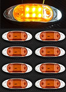 Cabina Techo frontal esquina blanco Scania G P R T sol visera l/ámpara LED luz 12/V 24/V E-marked OEM reemplazar 1798980 1910438