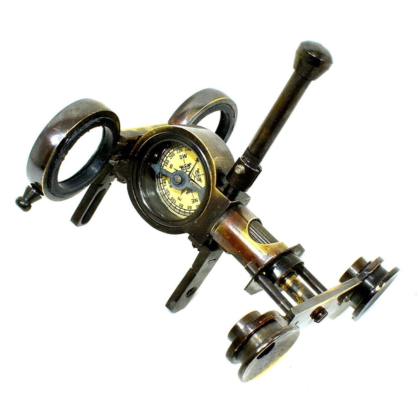 コテージキリン世界の窓真鍮 双眼鏡 海洋 単眼鏡 望遠鏡 ギフト